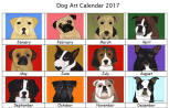 Click here for a close up of Dog Art 2017