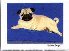 Note Card - Pug Design A11