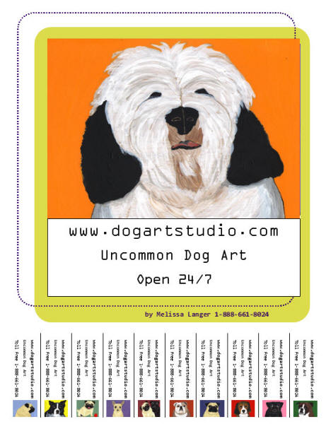 Dog Art Studio Flyer