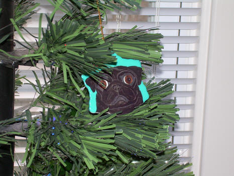 Ornament Pug Design A23 - Photo courtesy of Amy Maxwell, IN